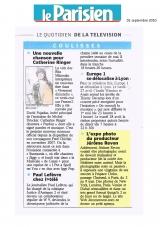 Le Parisien sept 2010 Jérôme Revon